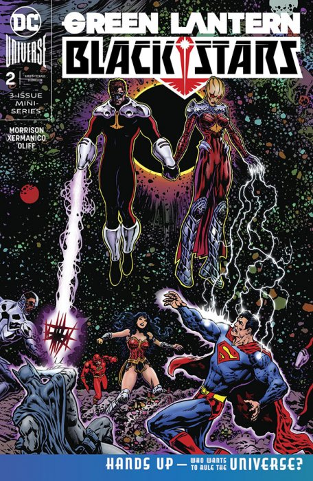 Green Lantern - Blackstars #2