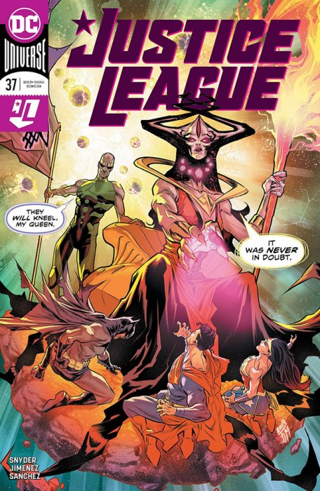 Justice League #37