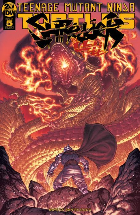 Teenage Mutant Ninja Turtles - Shredder in Hell #5