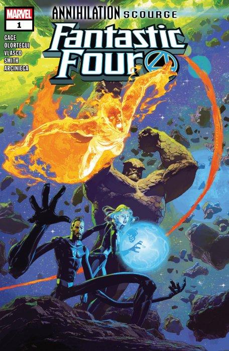 Annihilation - Scourge - Fantastic Four #1