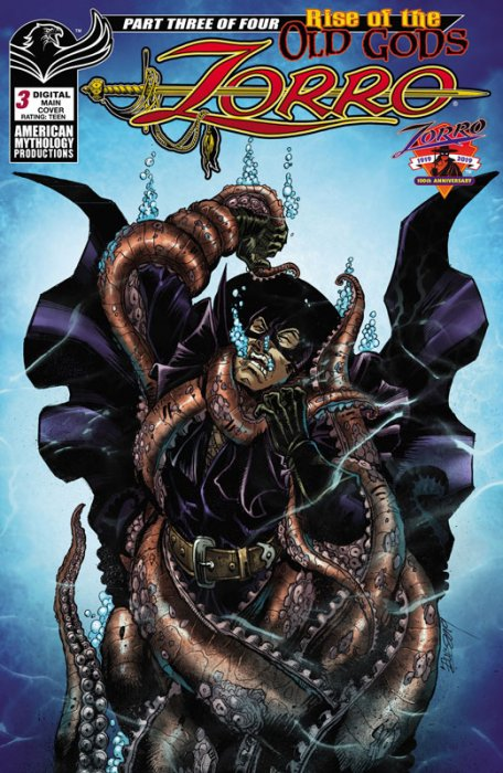 Zorro - Rise of the Old Gods #3