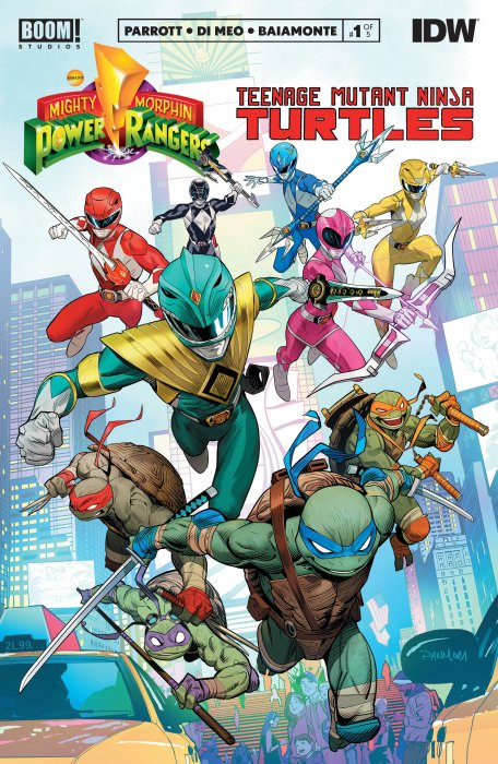 Mighty Morphin Power Rangers - Teenage Mutant Ninja Turtles #1