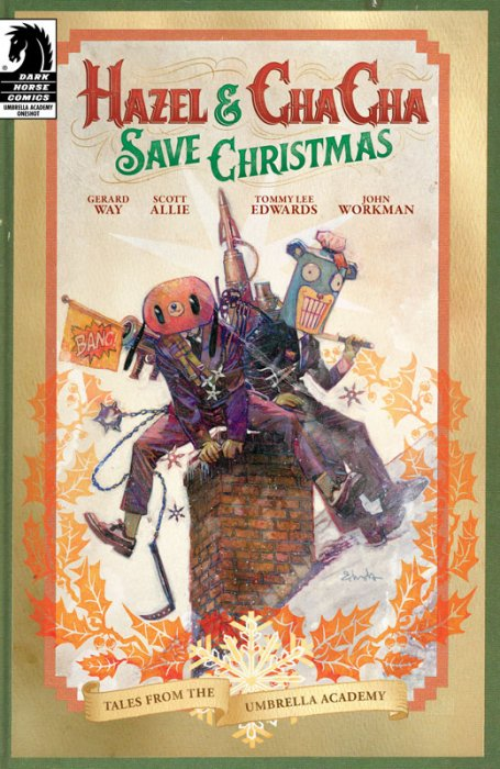 Hazel and Cha Cha Save Christmas - Tales from the Umbrella Academy #1