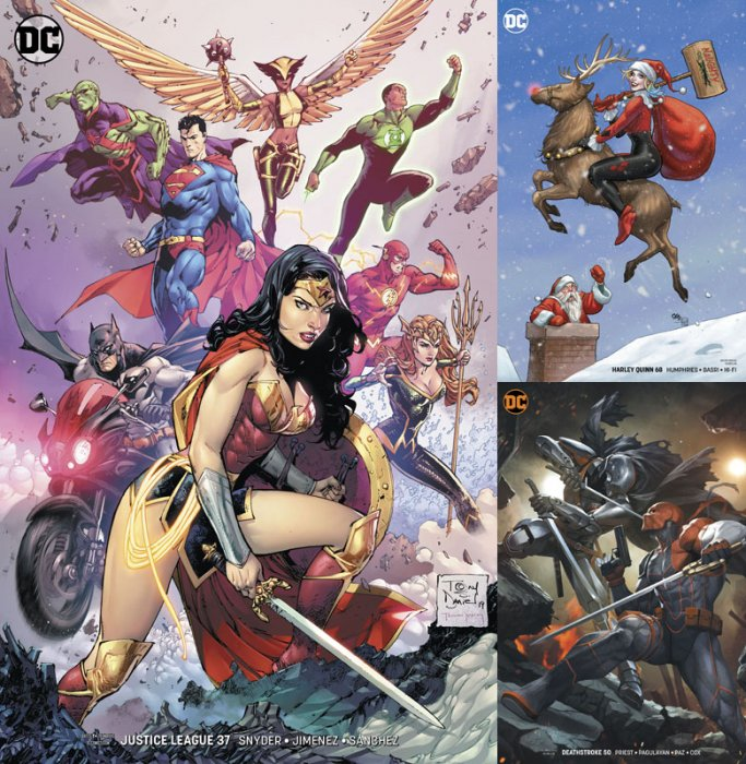 DC Variant Cover pack for 2019-12-04