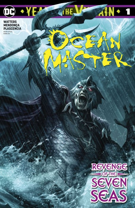 Ocean Master - Year Of The Villain #1