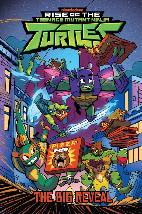 Rise of the Teenage Mutant Ninja Turtles - The Big Reveal #1