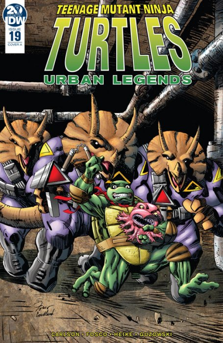 Teenage Mutant Ninja Turtles - Urban Legends #19