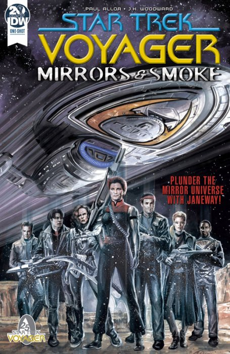 Star Trek - Voyager - Mirrors and Smoke #1