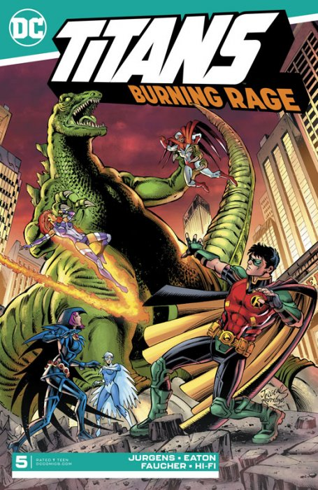 Titans - Burning Rage #5