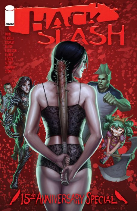 Hack-Slash 15th Anniversary Celebration #1