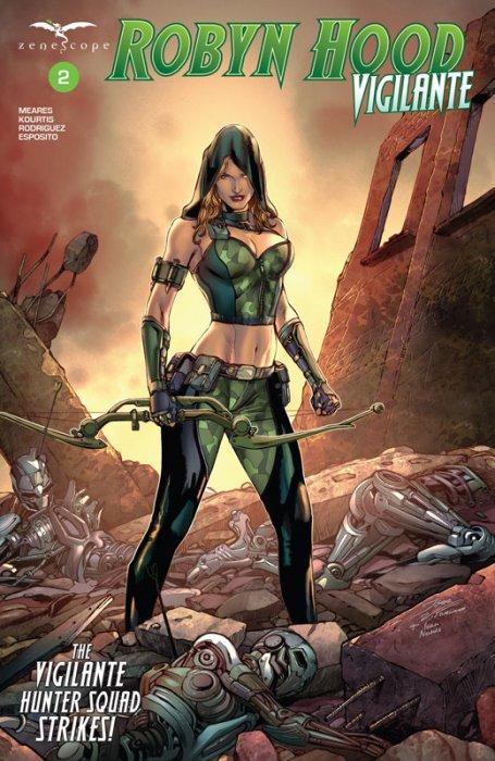 Robyn Hood - Vigilante #2