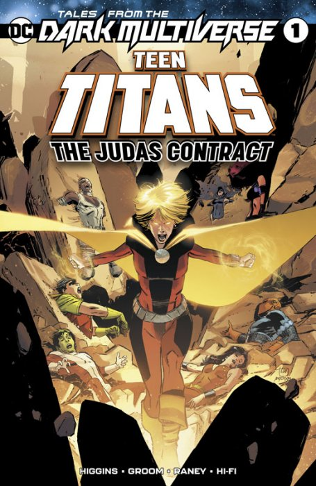 Tales from the Dark Multiverse - Teen Titans - The Judas Contract #1