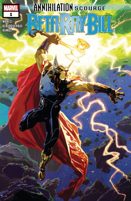 Annihilation - Scourge - Beta Ray Bill #1
