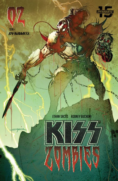 KISS - Zombies #2
