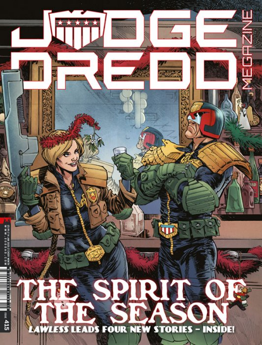 Judge Dredd The Megazine #415