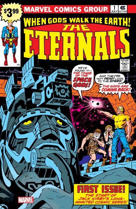 Eternals - Facsimile Edition #1