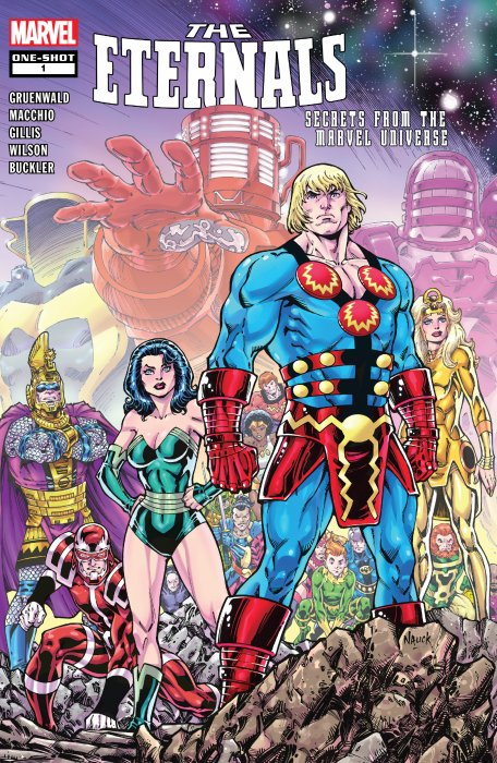 Eternals - Secrets From the Marvel Universe #1