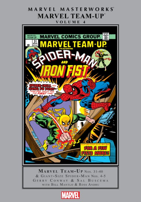 Marvel Masterworks - Marvel Team-Up Vol.4