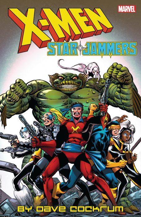 X-Men - Starjammers by Dave Cockrum #1 - TPB