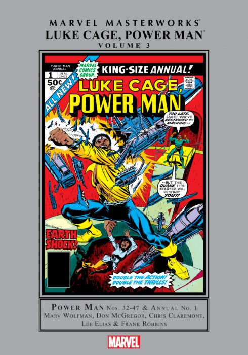 Marvel Masterworks - Luke Cage, Power Man Vol.3