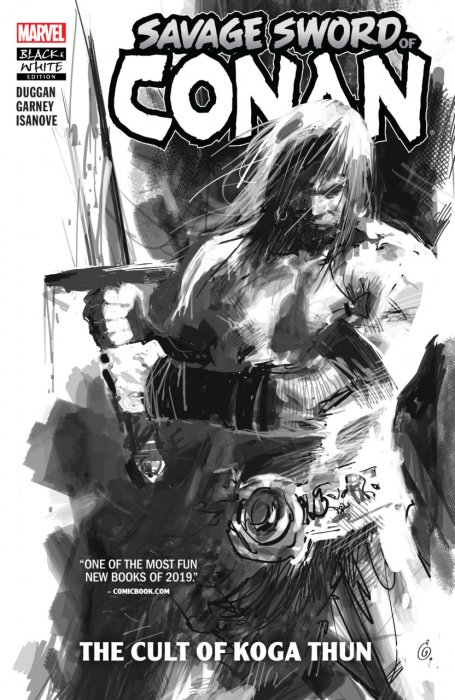 Savage Sword of Conan - The Cult of Koga Thun (Black and White Edition) #1