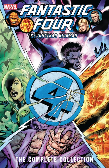 Fantastic Four by Jonathan Hickman - The Complete Collection Vol.2