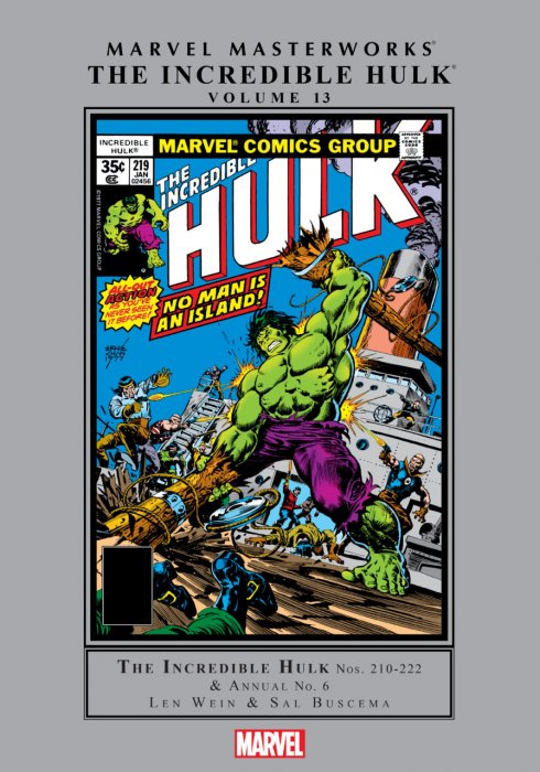 Marvel Masterworks - The Incredible Hulk Vol.13