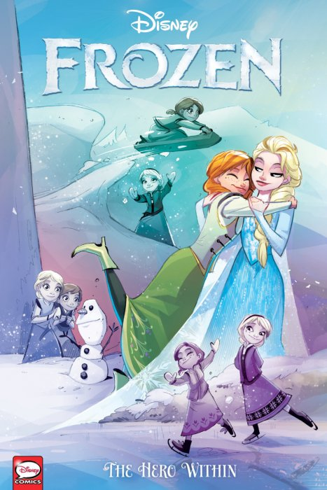 Disney Frozen - The Hero Within #1 - TPB