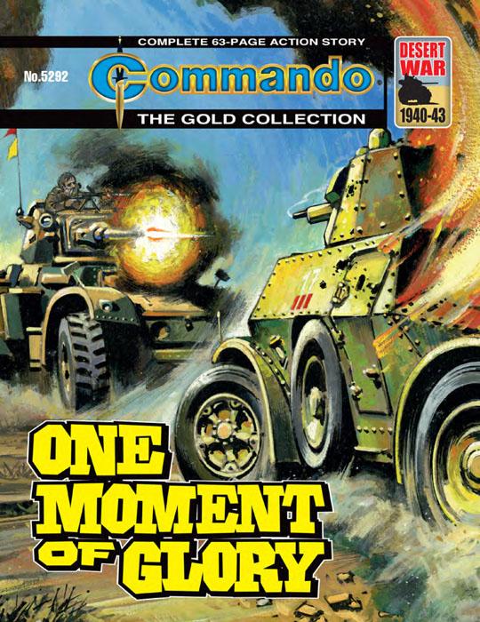 Commando #5291-5294