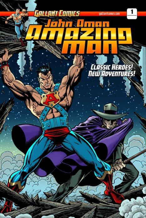 John Aman Amazing Man #1-6 Complete