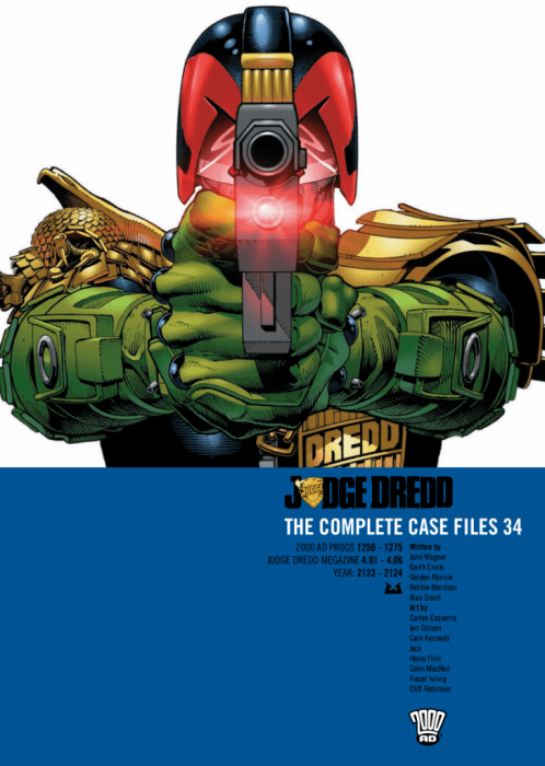 Judge Dredd - The Complete Case Files Vol.34