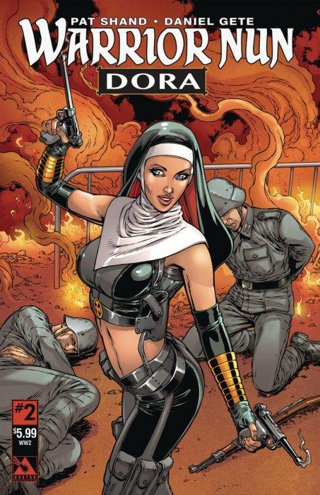 Warrior Nun - Dora #1-3