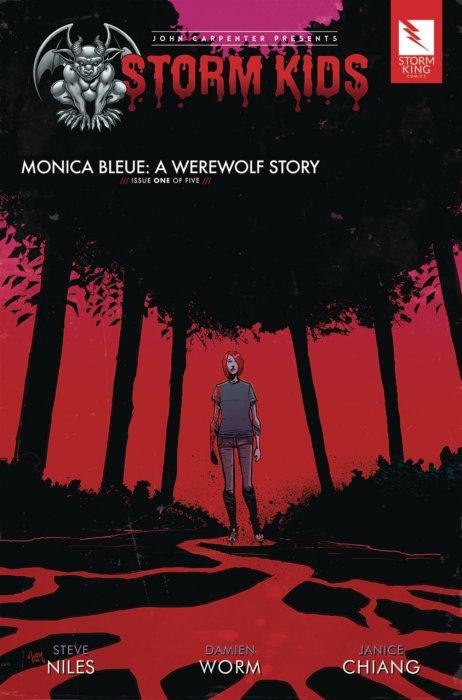 John Carpenter presents Storm Kids - MONICA BLEUE - A WEREWOLF STORY #1