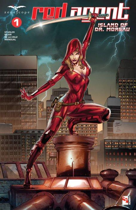 Red Agent - Island of Dr. Moreau #1