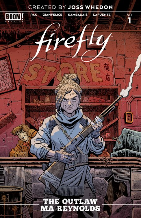 Firefly - The Outlaw Ma Reynolds #1