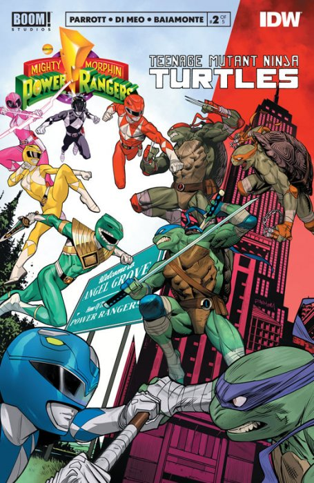 Mighty Morphin Power Rangers - Teenage Mutant Ninja Turtles #2