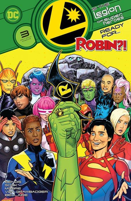 Legion of Superheroes #3