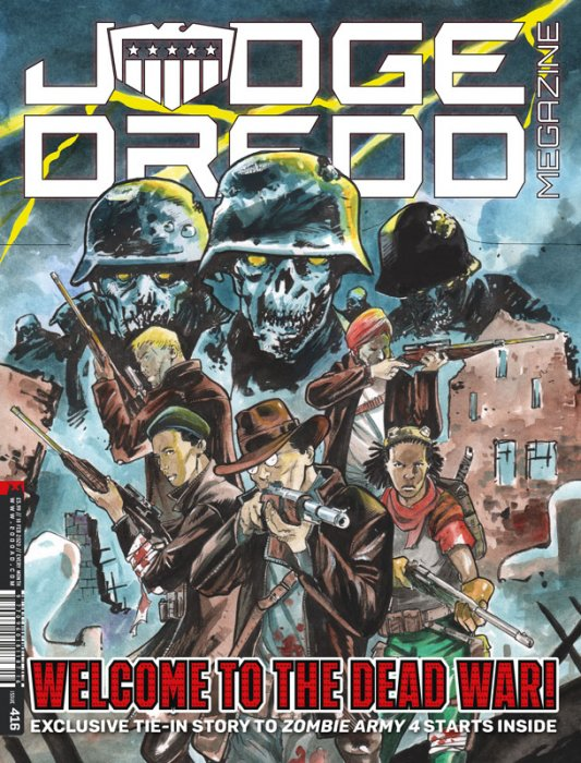 Judge Dredd The Megazine #416