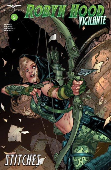Robyn Hood - Vigilante #3