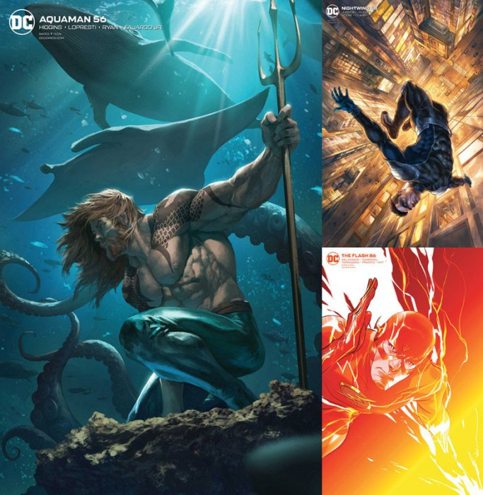 DC Variant Cover pack for 2020-01-15