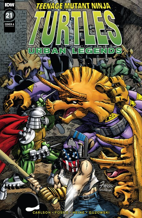Teenage Mutant Ninja Turtles - Urban Legends #21