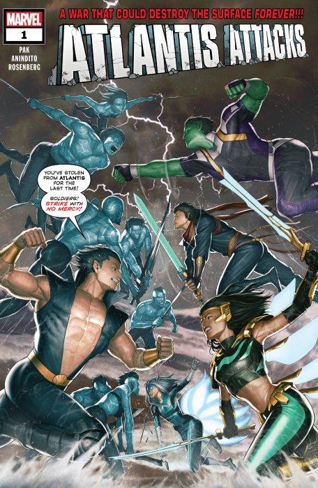 Atlantis Attacks #1