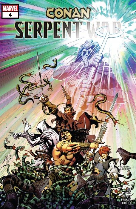 Conan - Serpent War #4