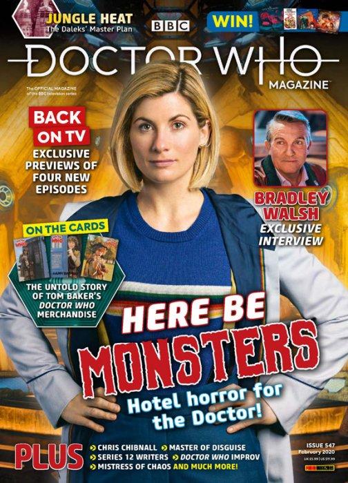 Doctor Who Magazine #547
