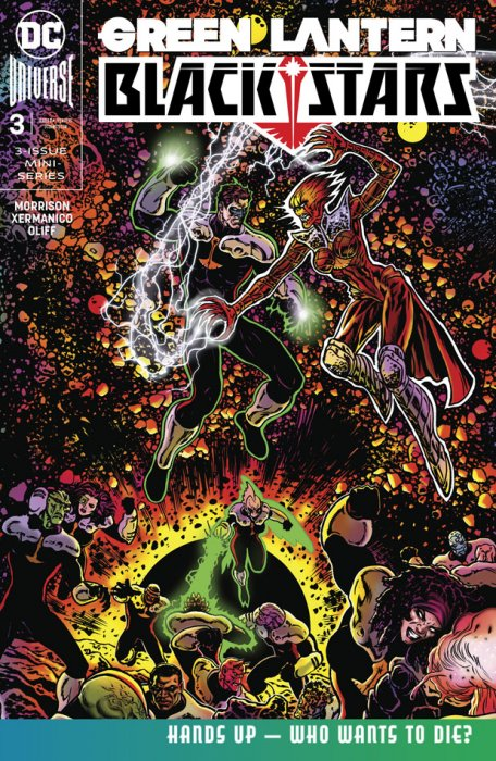 Green Lantern - Blackstars #3