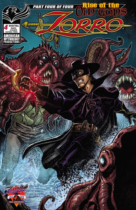 Zorro - Rise of the Old Gods #4