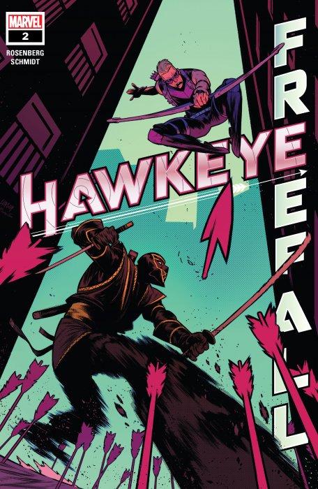 Hawkeye - Freefall #2