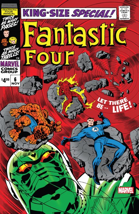 Fantastic Four Annual - Facsimile Edition #6