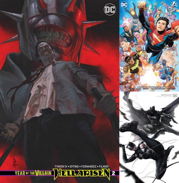 DC Variant Cover pack for 2020-01-22