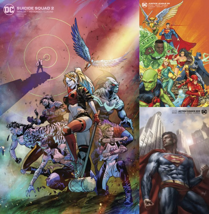 DC Variant Cover pack for 2020-01-29